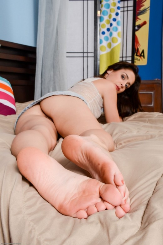 Tilly McReese in footfetish gallery from ATKPETITES