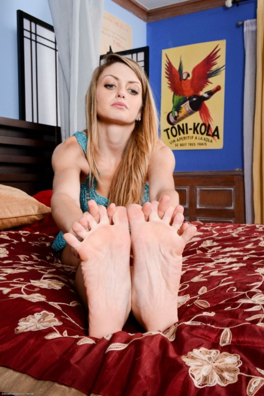 Staci Silverstone - `footfetish` - for ATKPETITES