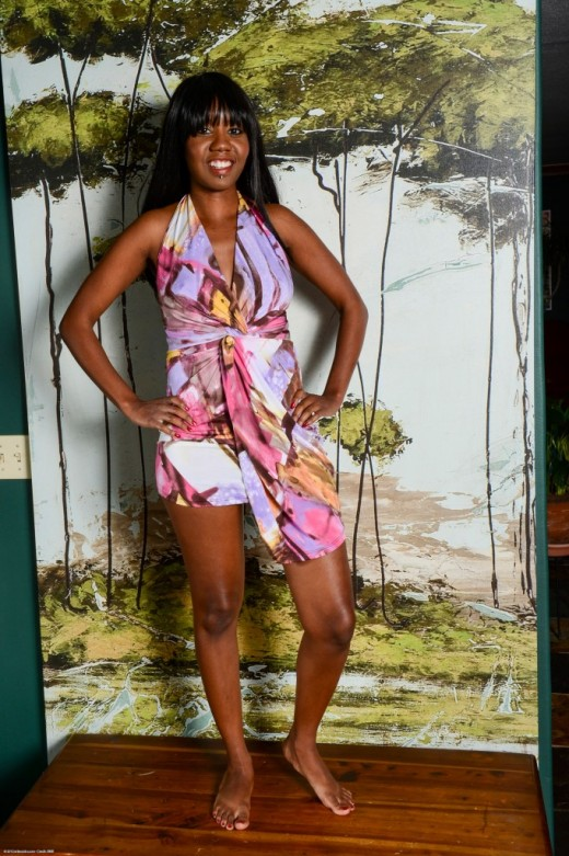 Nina Devon in black women gallery from ATKPETITES