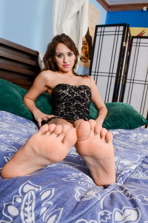 Sara Luvv in footfetish gallery from ATKPETITES