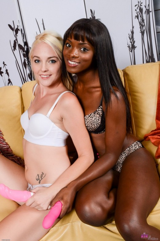 Ashley Stone & Ana Foxxx in lesbian gallery from ATKPETITES