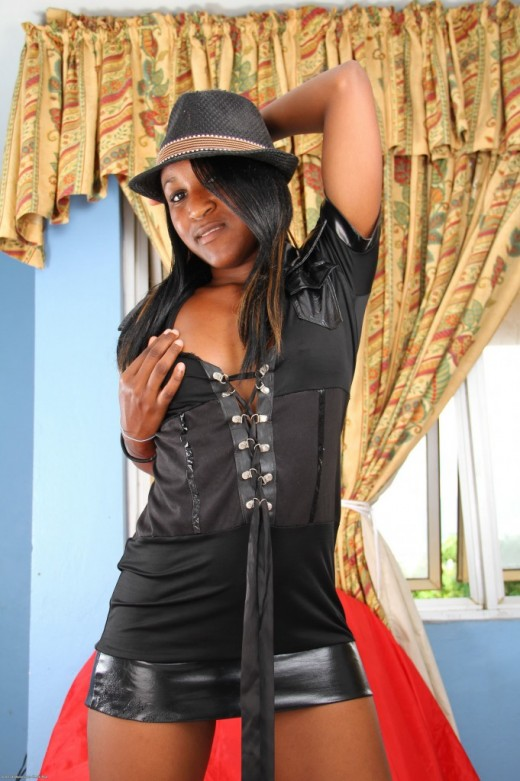 Katalia in black women gallery from ATKPETITES