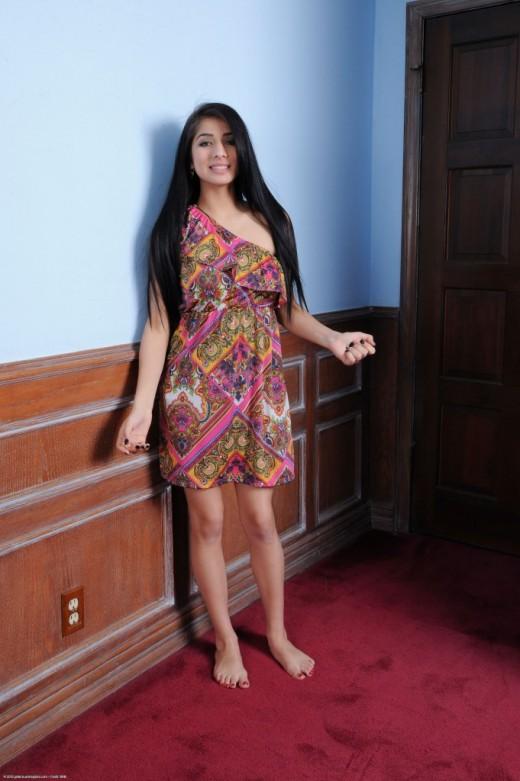 Megan Salinas - `upskirts and panties` - for ATKPETITES