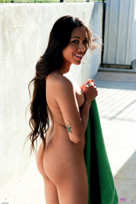 Cali Lee in nudism gallery from ATKPETITES