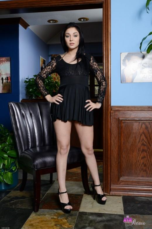 Aimee Black - `upskirts and panties` - for ATKPETITES