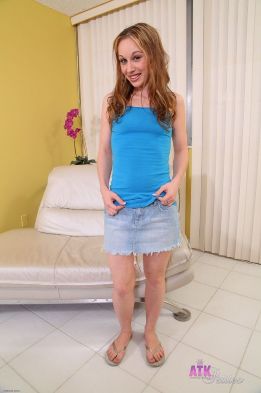 Tiffany Fowler in upskirts and panties gallery from ATKPETITES