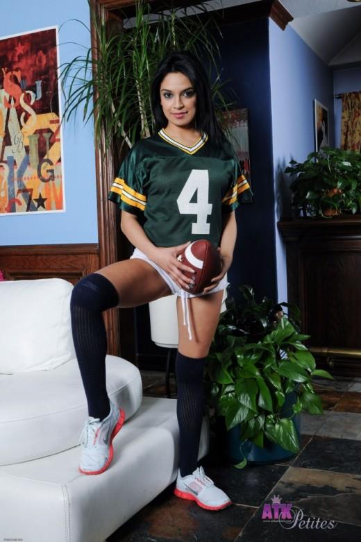 Jasmine Rain in uniforms gallery from ATKPETITES