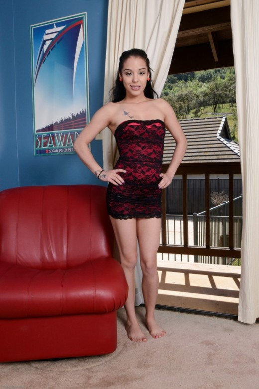 Eve Evans in dime pieces gallery from ATKPETITES
