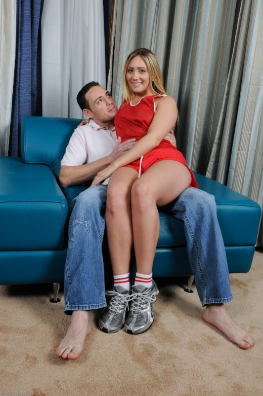 Ajay Applegate in blowjob gallery from ATKPETITES