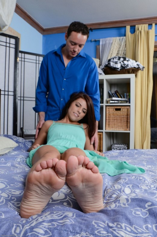 Adriana Chechik - `footfetish` - for ATKPETITES
