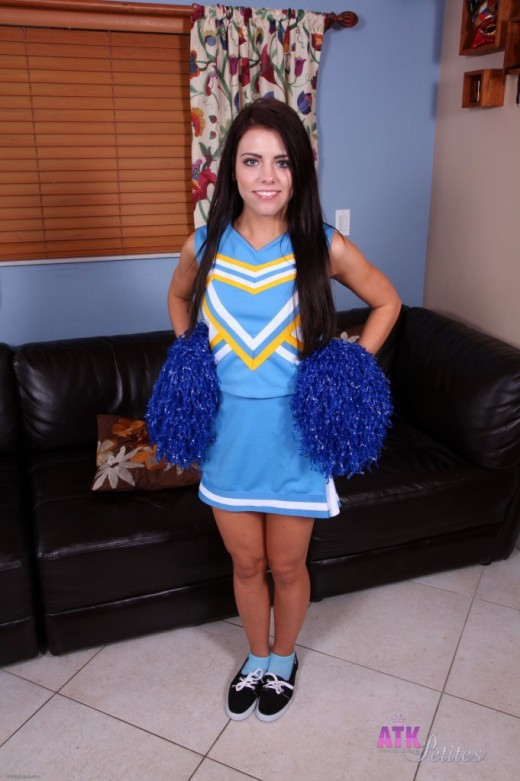 Adriana Chechik in uniforms gallery from ATKPETITES