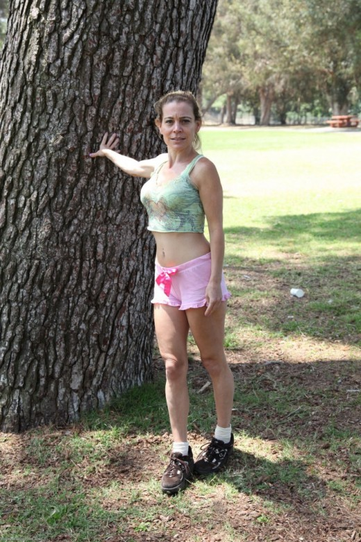 Pauline Marie in Upskirts and Panties gallery from ATKPETITES