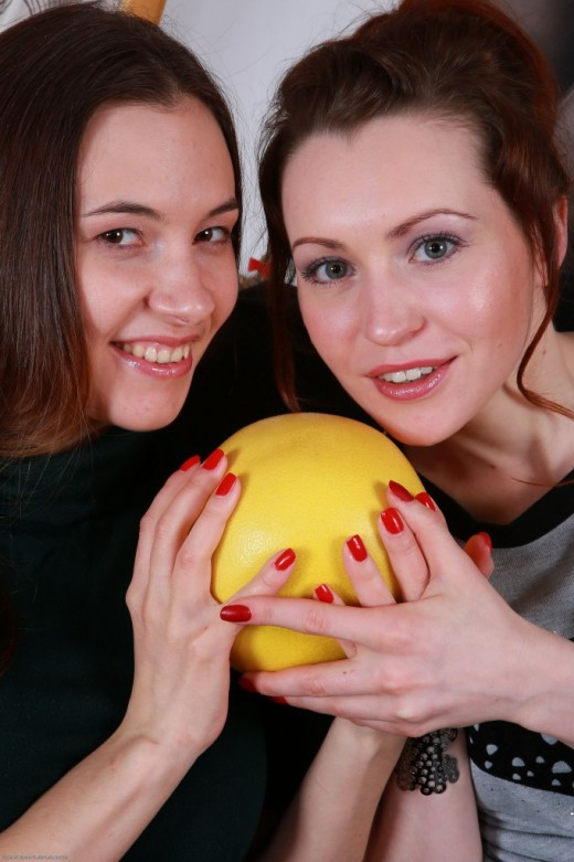 Clara & Alice in hairy lesbians gallery from ATKPETITES