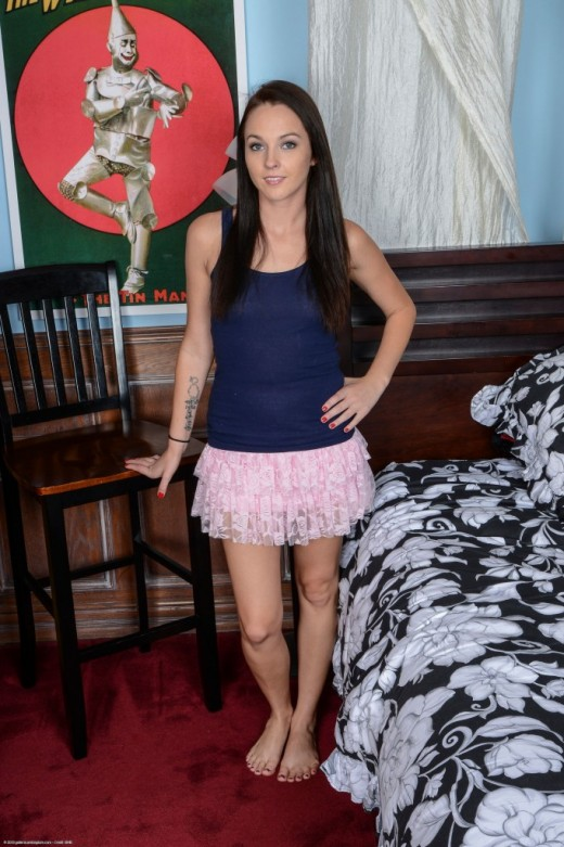 Ashley Stone - `upskirts and panties` - for ATKPETITES