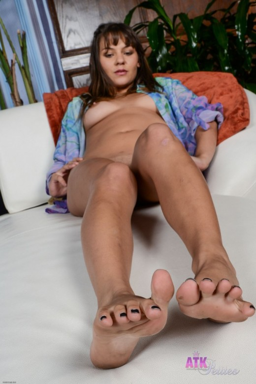 Rio Petite in footfetish gallery from ATKPETITES