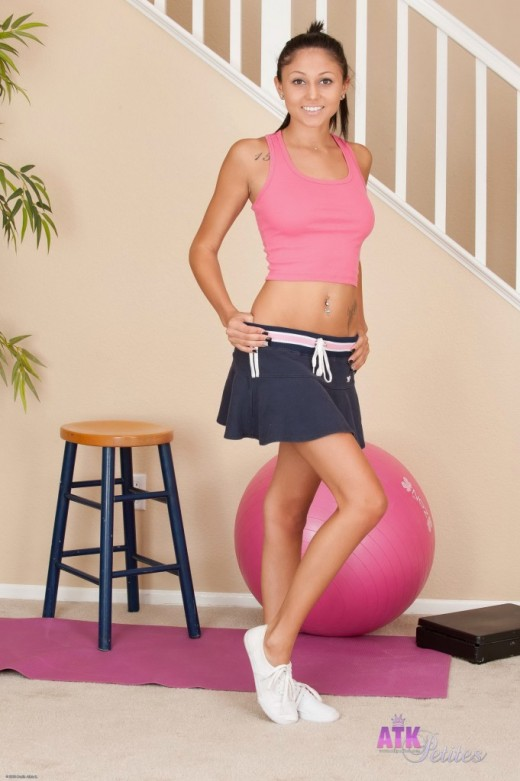 Ariana Marie - `upskirts and panties` - for ATKPETITES