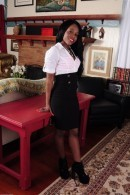 Leah in black women gallery from ATKPETITES