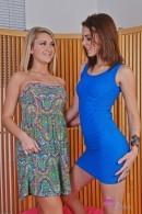 Chloe Addison & Kiera Winters - upskirts and panties