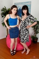 Juliette March & Aali Rousseau in hairy lesbians gallery from ATKPETITES