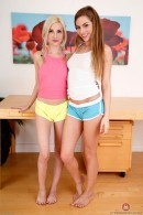 Piper Perri & Sydney Cole in lesbian gallery from ATKPETITES