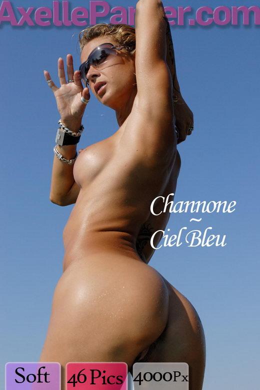 Channone - `Ciel Bleu` - for AXELLE PARKER