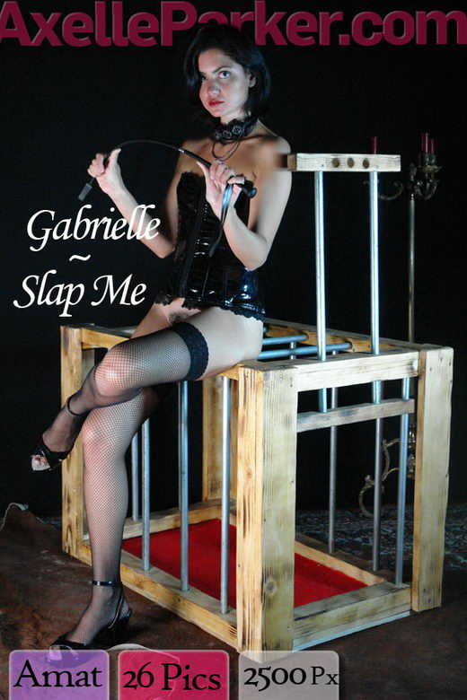 Gabrielle - `Slap Me` - for AXELLE PARKER