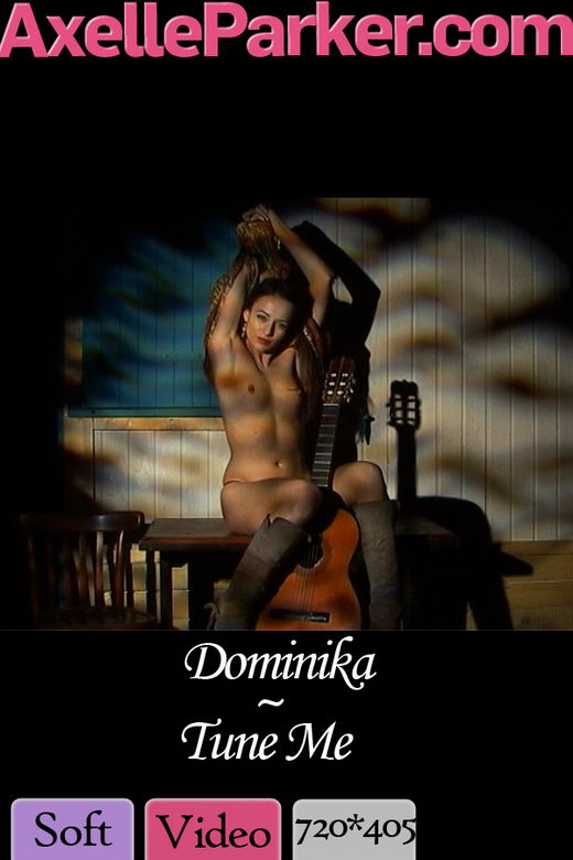 Dominika - `Tune Me` - for AXELLE PARKER