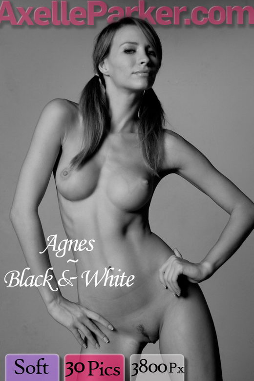 Agnes - `Black And White` - for AXELLE PARKER