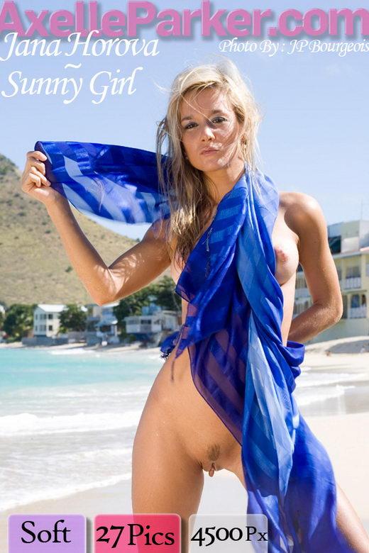 Jana Horova - `Sunny Girl` - for AXELLE PARKER