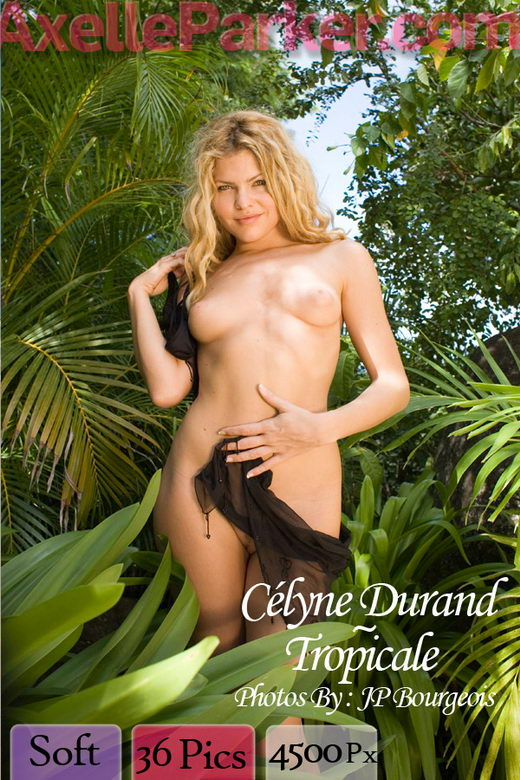 Celyne Durand - `Tropicale` - by JP Bourgeois for AXELLE PARKER