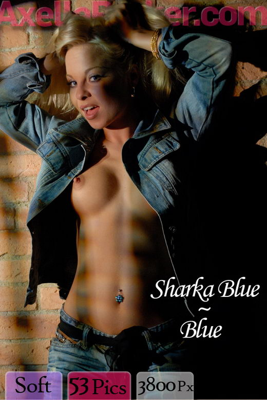 Sharka Blue - `Blue` - for AXELLE PARKER