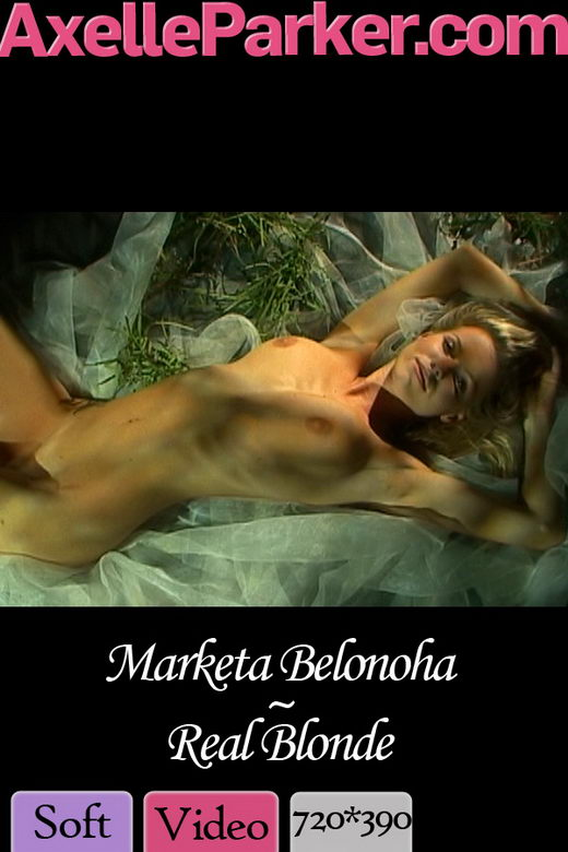 Marketa Belonoha - `Real Blonde` - for AXELLE PARKER