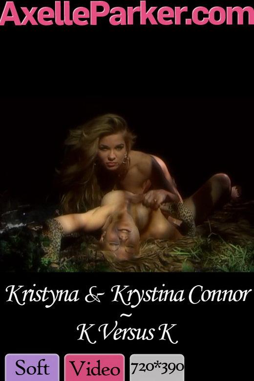 Kristyna & Krystina Connor - `K Versus K` - for AXELLE PARKER