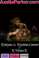 Kristyna & Krystina Connor in K Versus K video from AXELLE PARKER