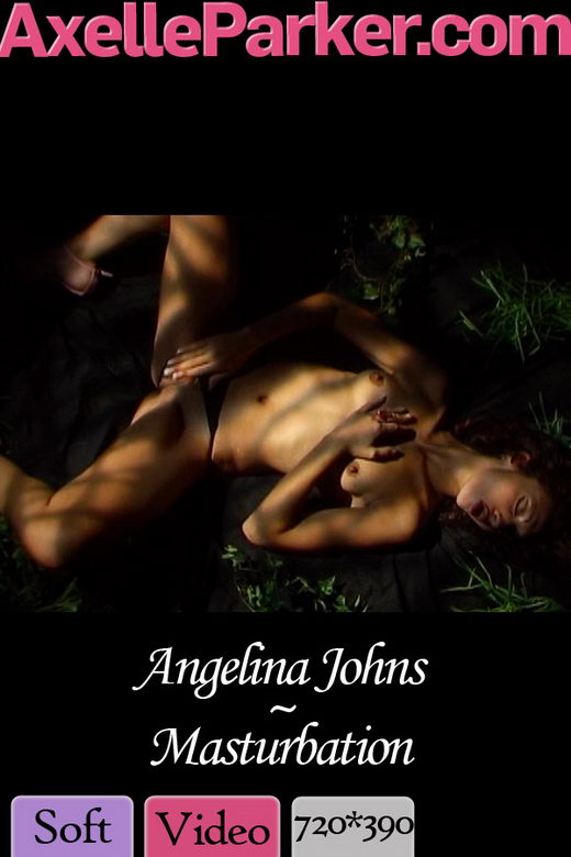 Angelina Johns in Masturbation video from AXELLE PARKER