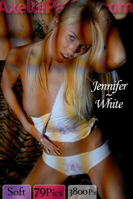 Jennifer - `White` - for AXELLE PARKER