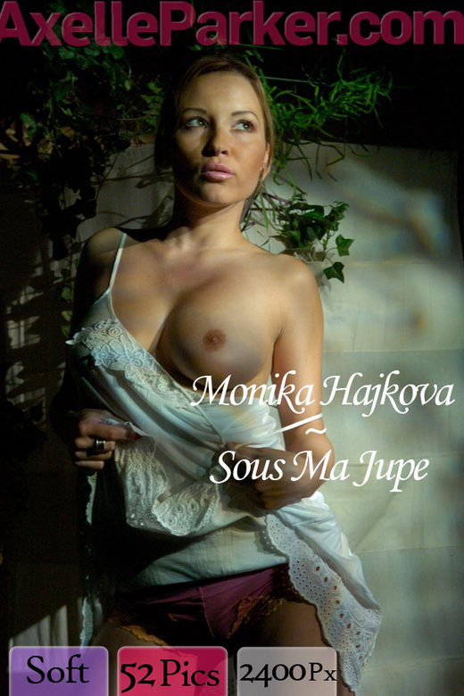 Monika Hajkova - `Sous Ma Jupe` - for AXELLE PARKER