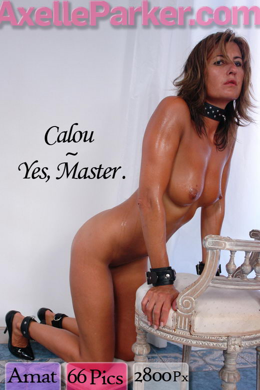 Calou - `Yes Master` - for AXELLE PARKER