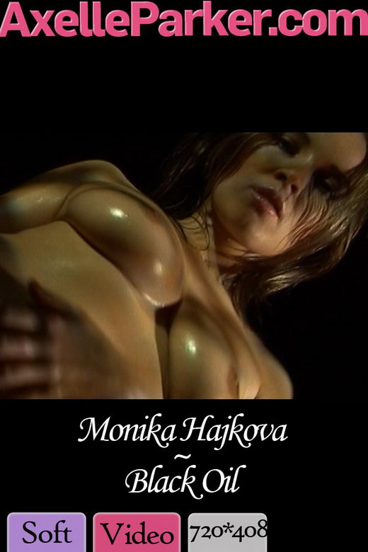 Monika Hajkova - `Black Oil` - for AXELLE PARKER