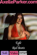 Egle in Red Boots video from AXELLE PARKER