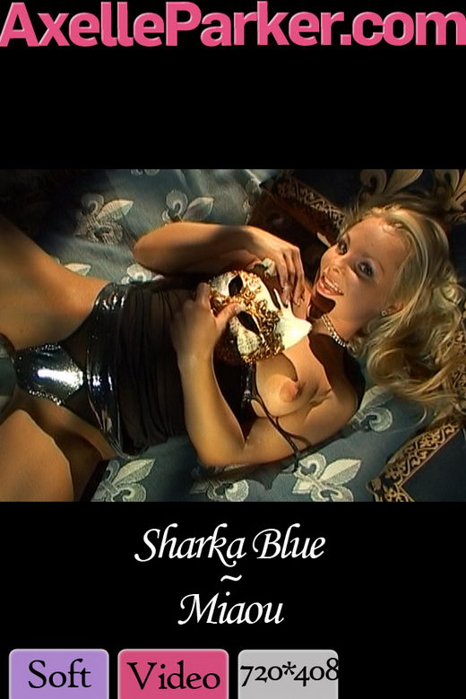 Sharka Blue - `Miaou` - for AXELLE PARKER