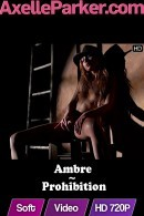 Ambre in Prohibition video from AXELLE PARKER