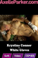 Krystina Connor in White Gloves video from AXELLE PARKER