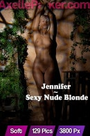 Jennifer in Sexy Nude Blonde gallery from AXELLE PARKER