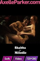 Shabba in Melodie video from AXELLE PARKER