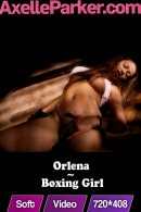 Orlena in Boxing Girl video from AXELLE PARKER