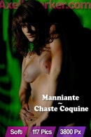 Manniante in Chaste Coquine gallery from AXELLE PARKER