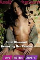 Suzie Diamond in Removing Her Panties gallery from AXELLE PARKER