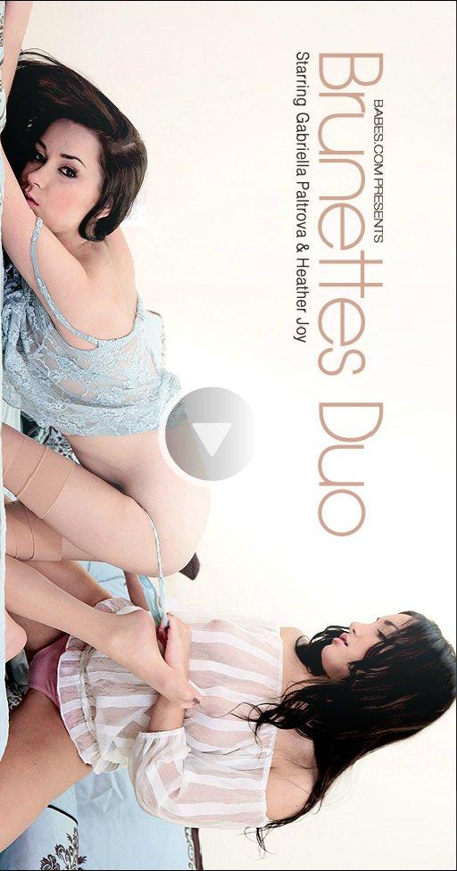 Heather Joy & Gabriella Paltrova - `Brunettes Duo` - for BABES