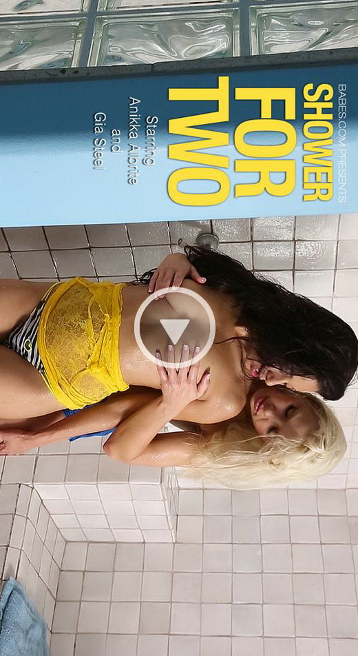 Anikka Albrite & Gia Steel - `Shower For Two` - for BABES